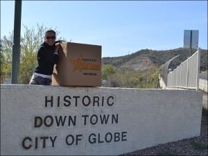 balikbayan boxes Globe, Arizona