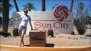 balikbayan boxes in Sun City, AZ