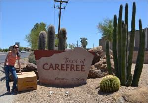 balikbayan boxes in Carefree, AZ